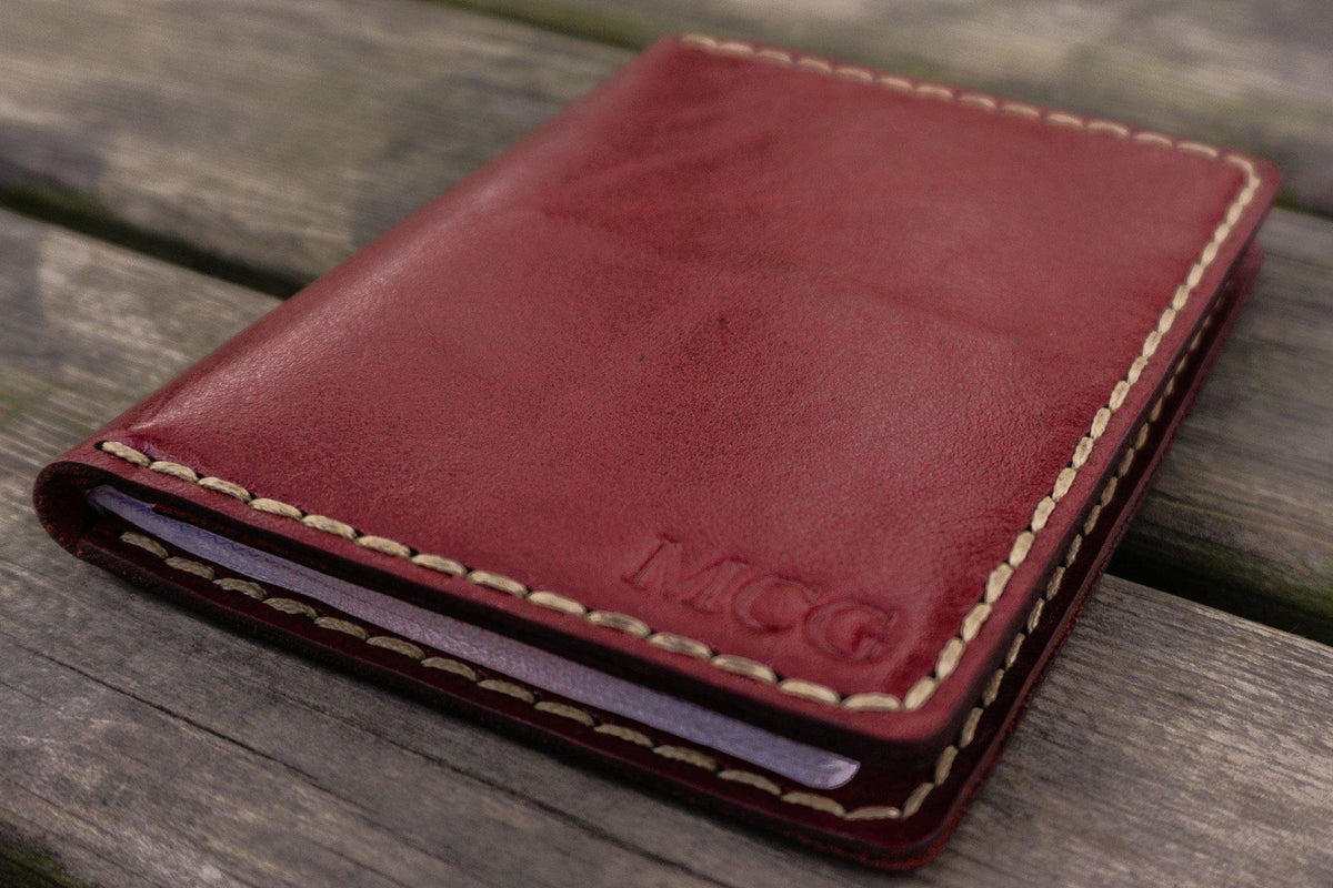 be8e5d4575b No.06 Hand-stitched Leather Passport Holder-Red - GalenLeather - 6. No.06  Hand-stitched Leather Passport Holder-Red - GalenLeather - 6
