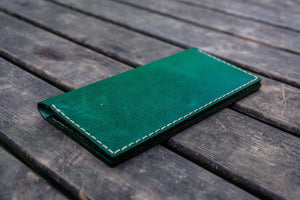 No.49 Handmade Leather Women Wallet - Green-Galen Leather