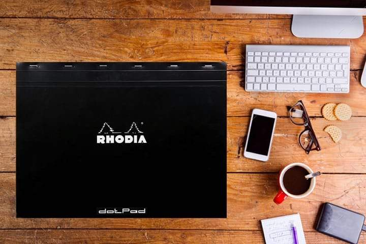 Rhodia Dot Pad No-38  Black A3+