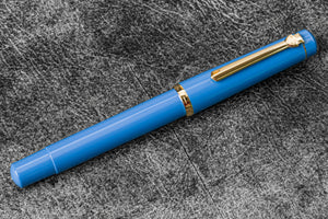 Scrikss 419 Fountain Pen Indigo-Galen Leather