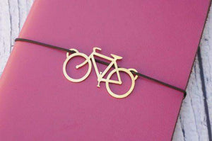 Solid Brass Charm for Traveler's Notebook Cover-Galen Leather