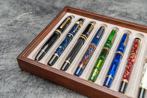 Stack & Store Wood Pen Display Box - Without Top-Galen Leather
