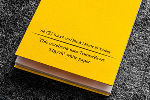 B7 Tomoe River notebook