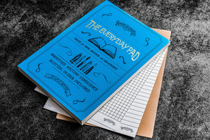 A5 size travel notebook