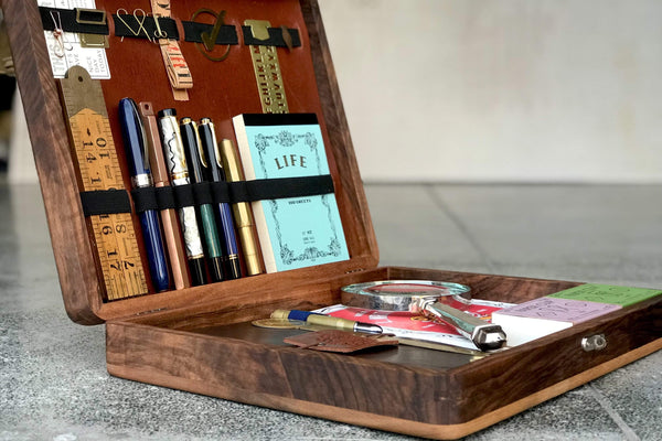The Writing Box Galen Leather