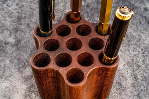 ToolComb Wooden Pen and Brush Holder-Galen Leather