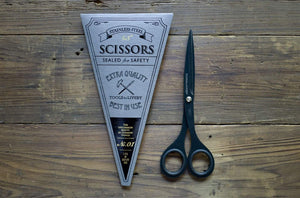 "Tools to Liveby Black Scissors 6.5""-Galen Leather"