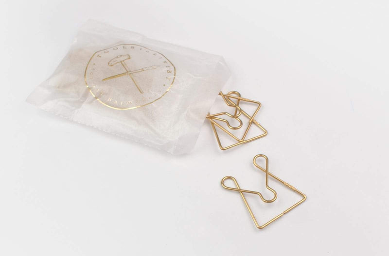 Tools to Liveby Brass Paper Clips (Mcgill)