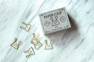 Retro matchbox paper clip storage
