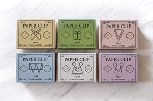 Quirky boxed paper clip set
