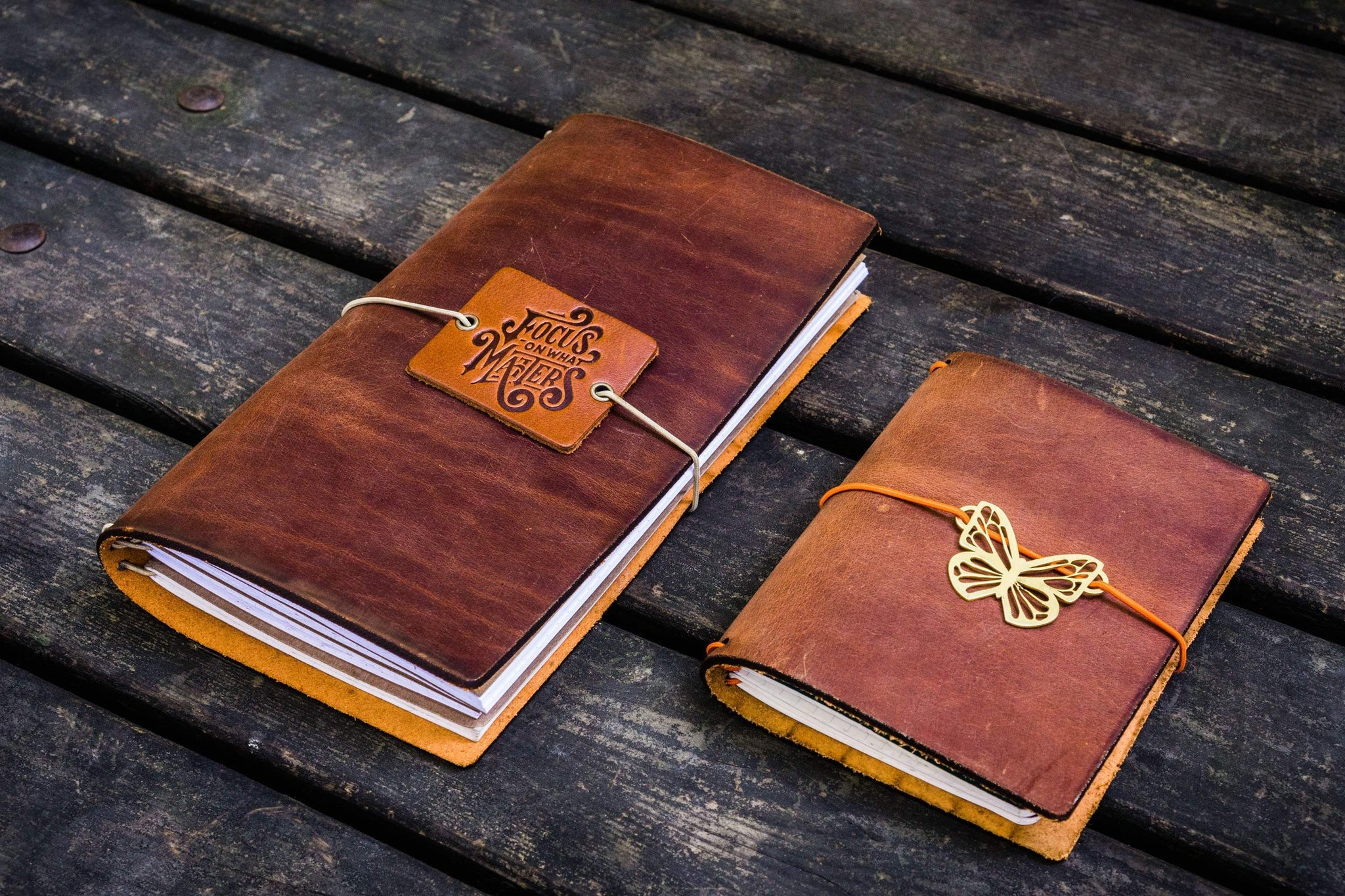 Traveler's Notebooks, Leather Notebook Covers, & More