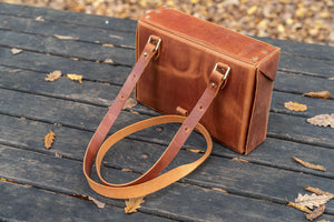 Handmade Leather Writer's Medic Kit Bag from Galen Leather