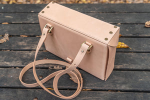Writer's Medic Bag - Undyed Leather-Galen Leather