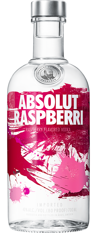 Absolut Raspberri Vodka 700ml - Wine Central