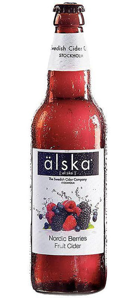 12 Bottle Case of Alska Nordic Berries Cider (500ML)