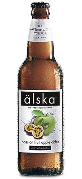 12 Bottle Case of Alska Passionfruit Apple Cider (500ML)