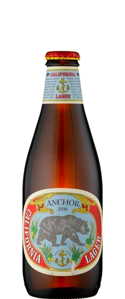 Anchor Brewing Co. California Lager Pint Bottle