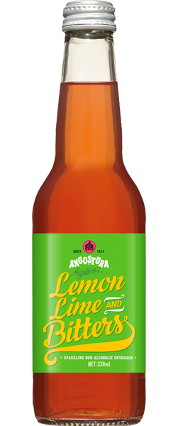 Angostura Lemon Lime and Bitters (4x 330ml bottles) BB:03.11.18