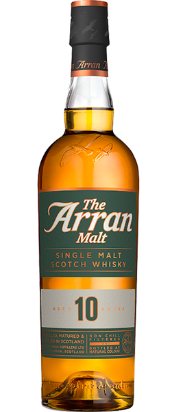 Arran 10 Year Old Single Malt Whiskey 700ml