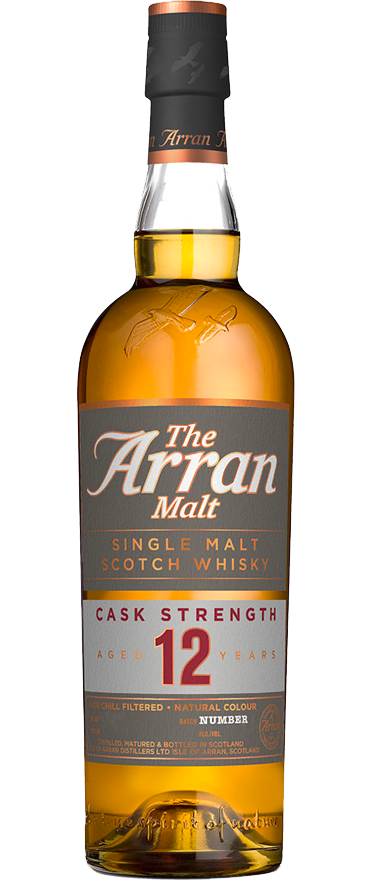Arran 12 Year Old Cask Strength Single Malt Whiskey 700ml