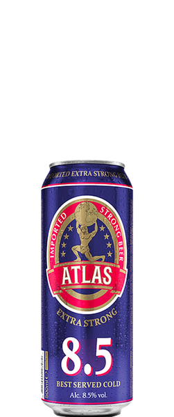 Atlas Extra Strong Beer 500ml Can BB:02.11.18