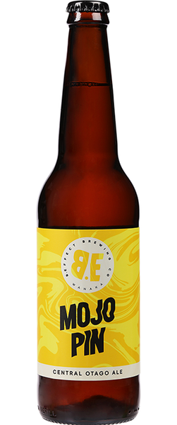 12 Bottles of B.Effect Brewing Co. Mojo Pin Ale (12x 500ml Bottles) BB:16.11.19