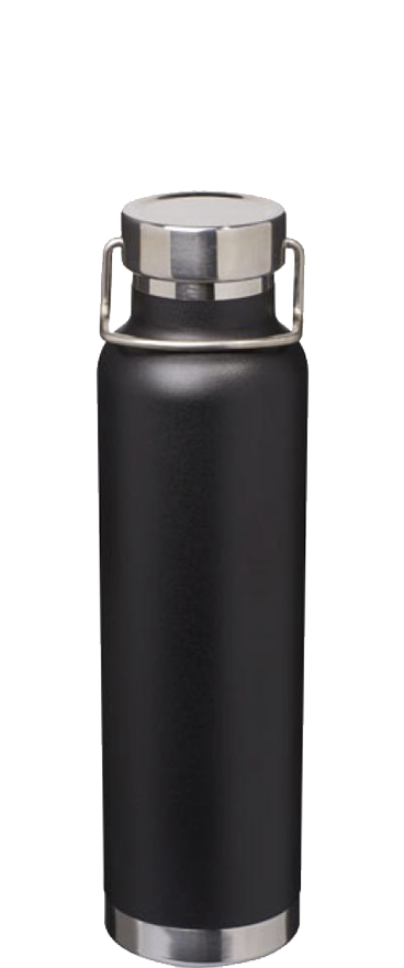 Thor Black Copper Vacuum Bottle - Wine Central