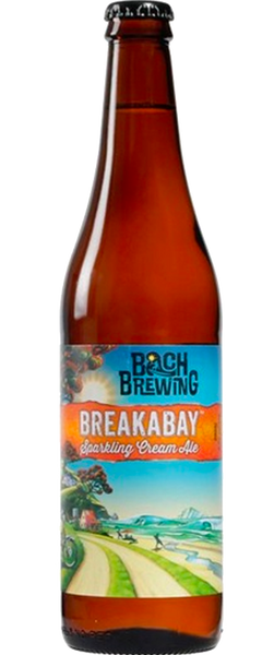 12 Bottles of Bach Brewing Breakabay Sparkling Cream Ale 500ml