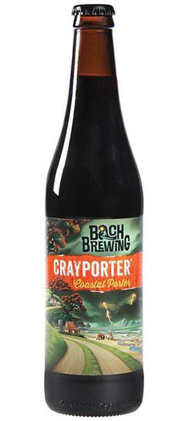 12 Bottles of Bach Brewing Cray Porter Dark Ale 500ml BB:12.10.18