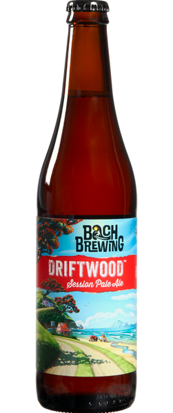 12 Bottles of Bach Brewing Driftwood Session Pale Ale (12x 500ml Bottles)