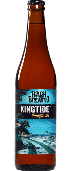 12 Bottles of Bach Brewing Kingtide Pacific IPA 7% (12x 500ml Bottles)