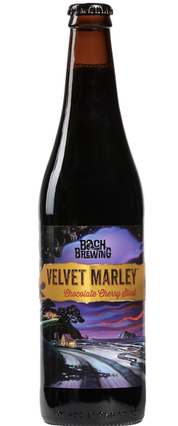 12 Bottles of Bach Brewing Velvet Marley Chocolate Cherry Stout (12x 500ml Bottles)