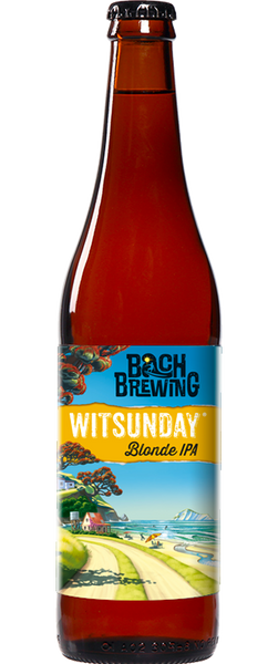 12 Bottles of Bach Brewing Witsunday Blonde IPA (12x 500ml Bottles)