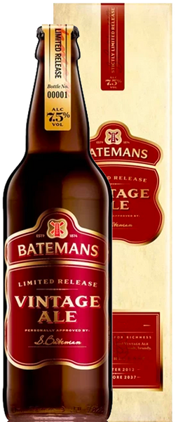 Batemans Vintage Ale 500ml Bottle