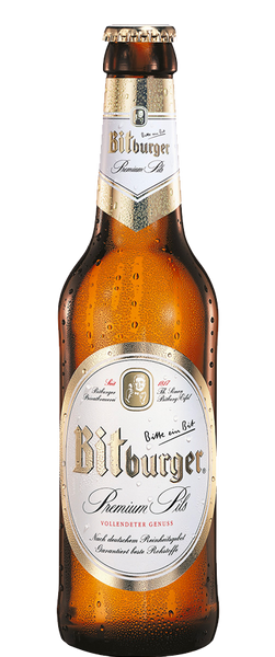 12 Bottles of Bitburger Premium Pils (12x 500ml Bottles) BB:31.08.19
