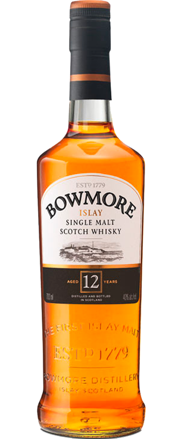 Bowmore Islay Single Malt 12 Year Old Scotch Whisky 700ml - Wine Central