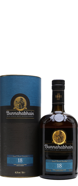 Bunnahabhain 18 Year Old Islay Single Malt Scotch Whisky 700ml