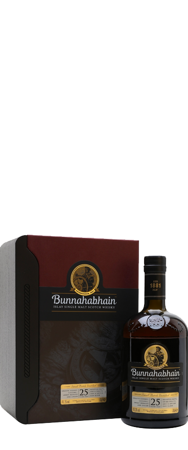 Bunnahabhain 25 Year Old Islay Single Malt Scotch Whisky 700ml