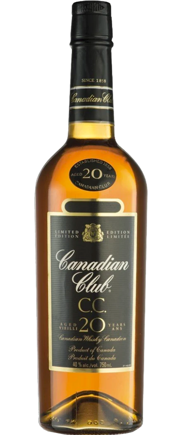 Canadian Club Classic 20 Year Old Whiskey 750ml
