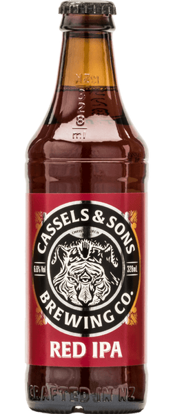 6 Bottles of Cassels & Sons Red IPA (6x 330ml Bottle)