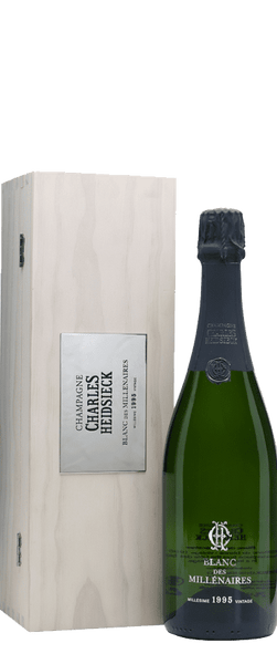 Charles Heidsieck Blanc des Millenaires 1995 in Gift Box