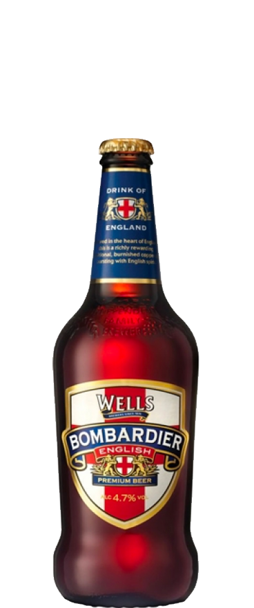 Charles Wells Bombardier Ale 500ml Bottle