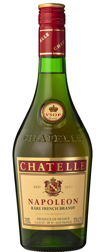 Chatelle Napoleon Brandy 1L - Wine Central