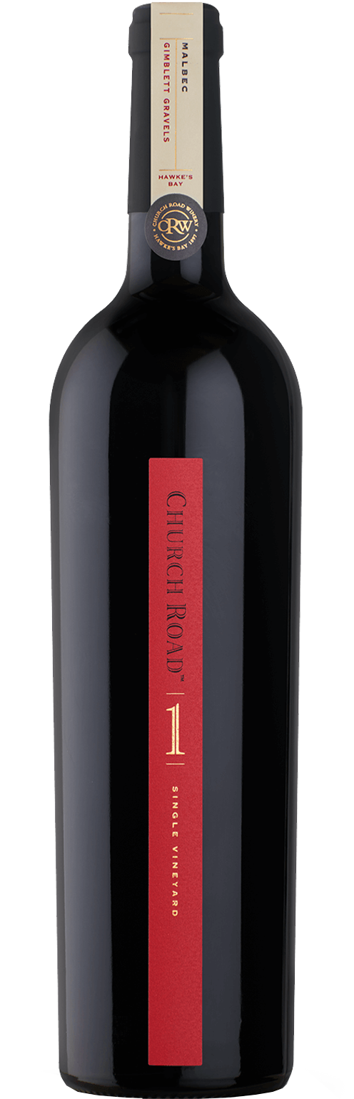 Church Road ONE Gimblett Gravels Malbec 2017 - Wine Central