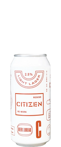 Citizen Light Lager 440ml Can
