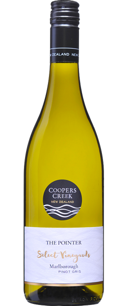 Coopers Creek Select Vineyards 'The Pointer' Pinot Gris 2017