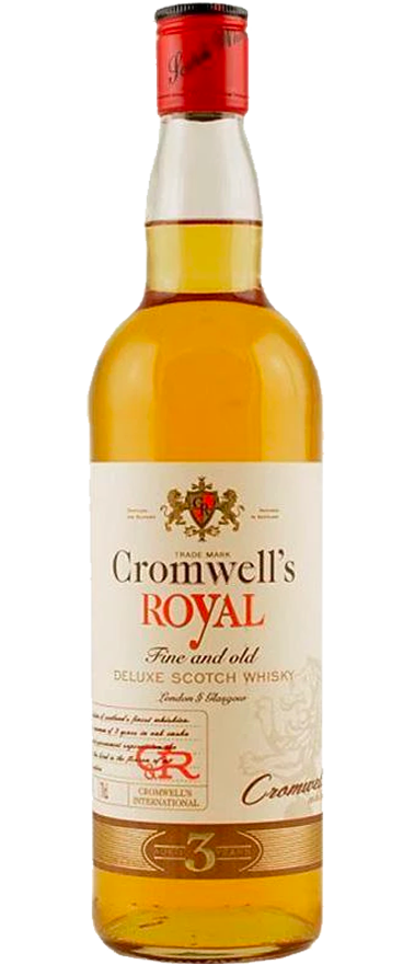 Cromwell's Royal 3 Year Old Blended Scotch Whisky 700ml