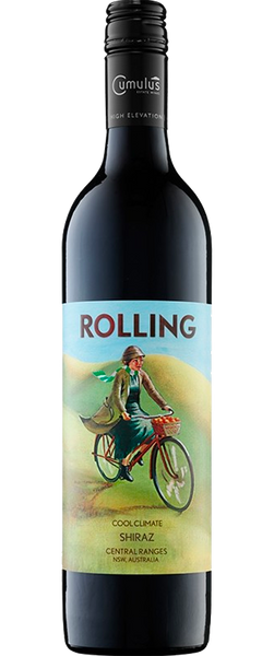 12 Bottles of Cumulus Rolling Shiraz 2015 & Slate Cheese Board
