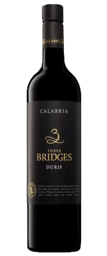 Calabria Three Bridges Durif 2018 - Wine Central