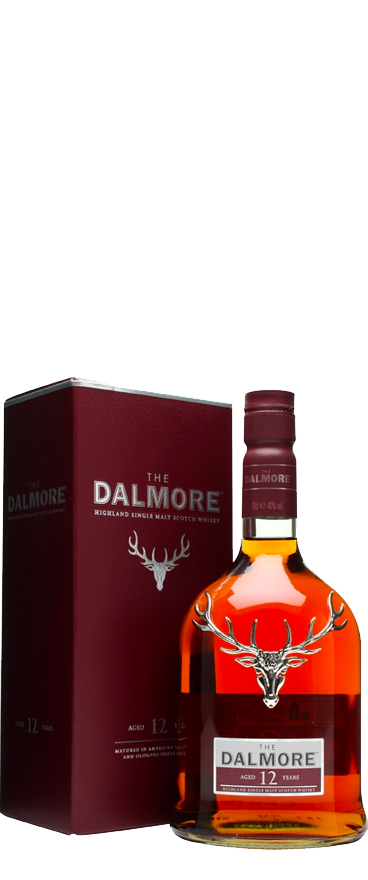 The Dalmore 12 Year Old Single Malt Whisky 700ml - Wine Central